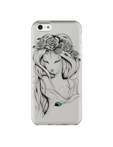 Coque iPhone 5C Princesse Poétique Gypsy Transparente - LouJah