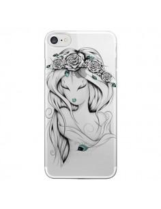 Coque Princesse Poétique Gypsy Transparente pour iPhone 7 - LouJah