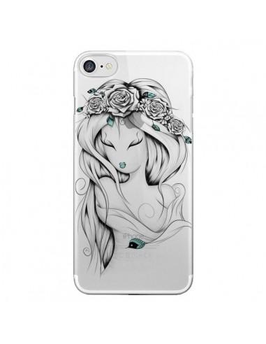 Coque Princesse Poétique Gypsy Transparente pour iPhone 7 et 8 - LouJah