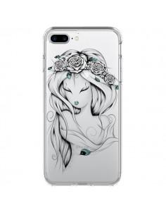 Coque Princesse Poétique Gypsy Transparente pour iPhone 7 Plus - LouJah
