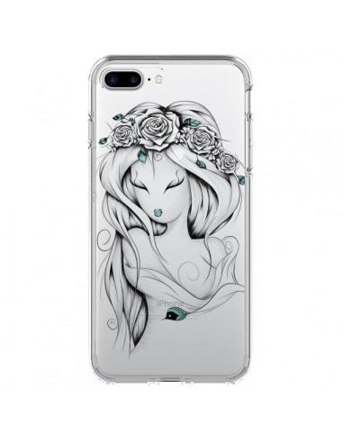 Coque Princesse Poétique Gypsy Transparente pour iPhone 7 Plus et 8 Plus - LouJah