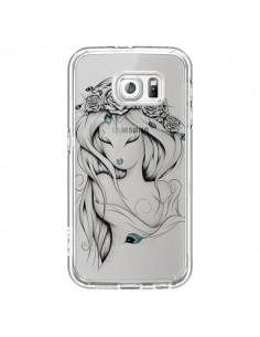 Coque Princesse Poétique Gypsy Transparente pour Samsung Galaxy S6 - LouJah
