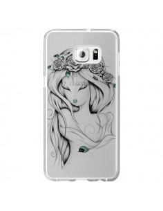 Coque Princesse Poétique Gypsy Transparente pour Samsung Galaxy S6 Edge Plus - LouJah