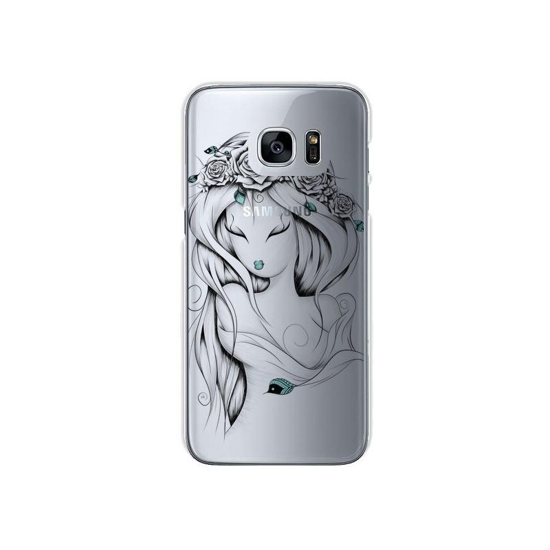 Coque Princesse Poétique Gypsy Transparente pour Samsung Galaxy S7 - LouJah