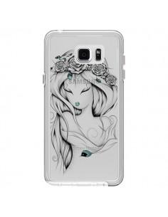 Coque Princesse Poétique Gypsy Transparente pour Samsung Galaxy Note 5 - LouJah