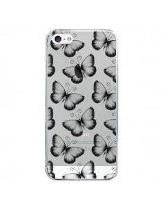 Coque Papillons Transparente Transparente pour iPhone 5/5S et SE - LouJah