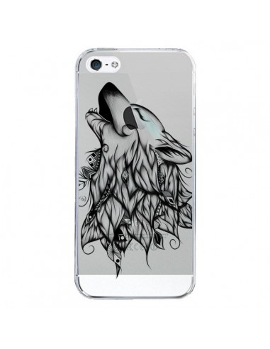 Coque iPhone 5/5S et SE Loup Hurlant...