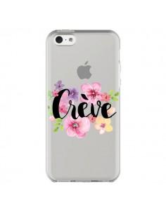 Coque iPhone 5C Crève Fleurs Transparente - Maryline Cazenave