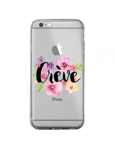 Coque Crève Fleurs Transparente pour iPhone 6 Plus et 6S Plus - Maryline Cazenave