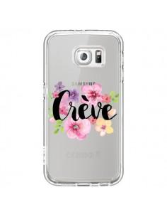 Coque Crève Fleurs Transparente pour Samsung Galaxy S6 - Maryline Cazenave