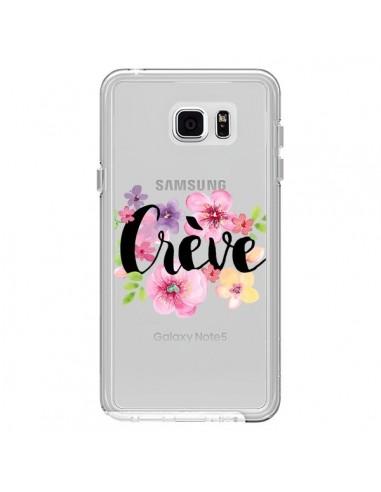 Coque Crève Fleurs Transparente pour Samsung Galaxy Note 5 - Maryline Cazenave