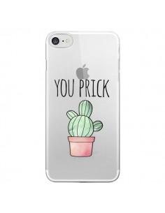 Coque You Prick Cactus Transparente pour iPhone 7 - Maryline Cazenave