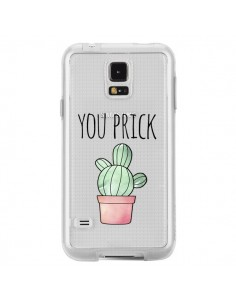 Coque You Prick Cactus Transparente pour Samsung Galaxy S5 - Maryline Cazenave