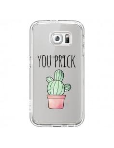 Coque You Prick Cactus Transparente pour Samsung Galaxy S6 - Maryline Cazenave