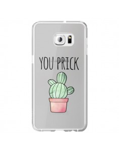 Coque You Prick Cactus Transparente pour Samsung Galaxy S6 Edge Plus - Maryline Cazenave