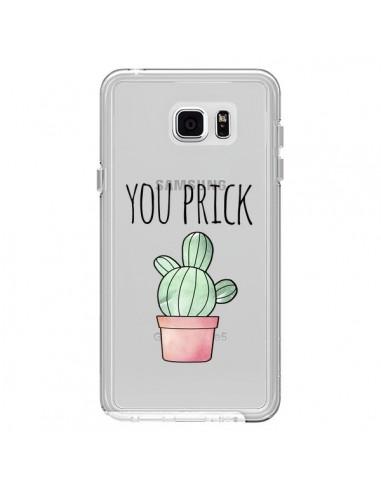 Coque You Prick Cactus Transparente pour Samsung Galaxy Note 5 - Maryline Cazenave