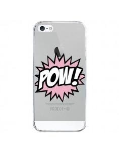 Coque Pow Transparente pour iPhone 5/5S et SE - Maryline Cazenave