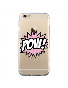 Coque Pow Transparente pour iPhone 6 et 6S - Maryline Cazenave