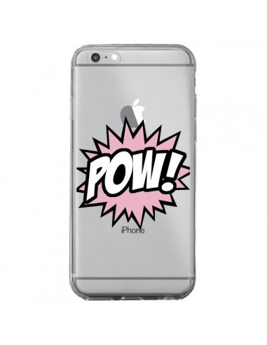 Coque iPhone 6 Plus et 6S Plus Pow Transparente - Maryline Cazenave