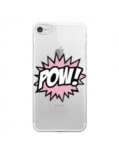 Coque Pow Transparente pour iPhone 7 - Maryline Cazenave