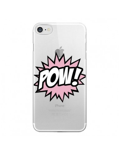 Coque iPhone 7 et 8 Pow Transparente - Maryline Cazenave