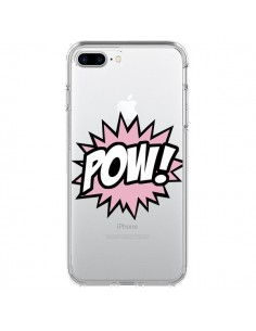Coque iPhone 7 Plus et 8 Plus Pow Transparente - Maryline Cazenave