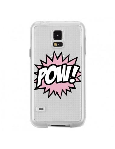Coque Pow Transparente pour Samsung Galaxy S5 - Maryline Cazenave