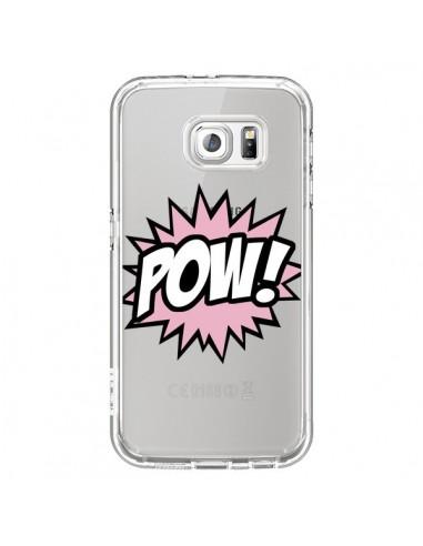 Coque Pow Transparente pour Samsung Galaxy S6 - Maryline Cazenave