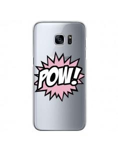 Coque Pow Transparente pour Samsung Galaxy S7 - Maryline Cazenave