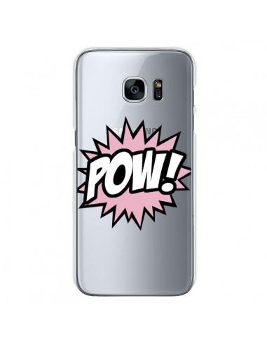 Coque Pow Transparente pour Samsung...