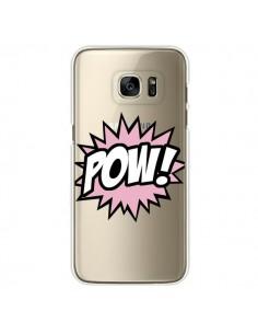 Coque Pow Transparente pour Samsung Galaxy S7 Edge - Maryline Cazenave
