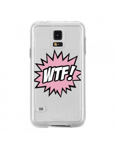 Coque WTF What The Fuck Transparente pour Samsung Galaxy S5 - Maryline Cazenave