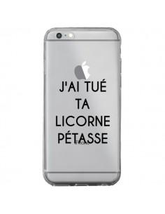 Coque Tué Licorne Pétasse Transparente pour iPhone 6 Plus et 6S Plus - Maryline Cazenave