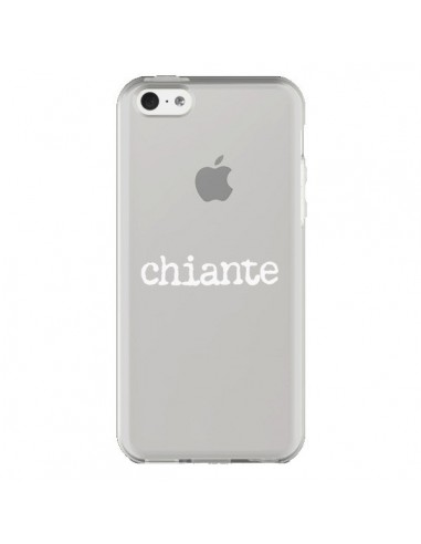 Coque iPhone 5C Chiante Blanc...