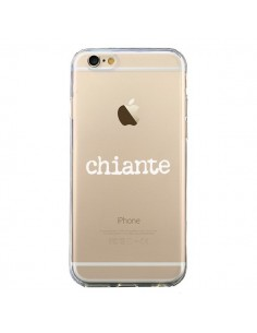 Coque Chiante Blanc Transparente pour iPhone 6 et 6S - Maryline Cazenave