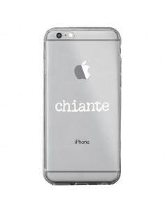 Coque Chiante Blanc Transparente pour iPhone 6 Plus et 6S Plus - Maryline Cazenave