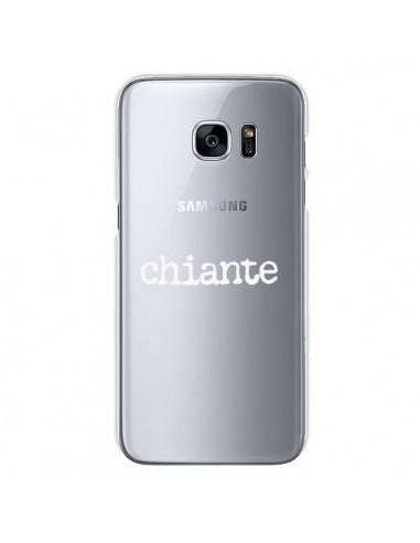 Coque Chiante Blanc Transparente pour Samsung Galaxy S7 - Maryline Cazenave