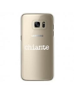 Coque Chiante Blanc Transparente pour Samsung Galaxy S7 Edge - Maryline Cazenave