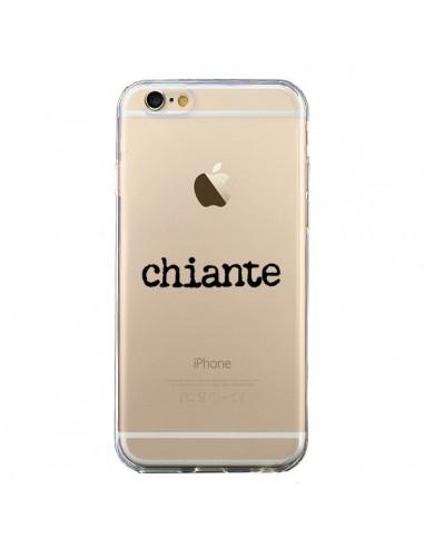 Coque Chiante Noir Transparente pour iPhone 6 et 6S - Maryline Cazenave