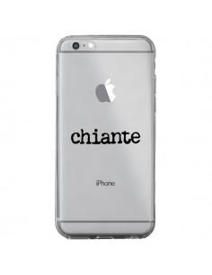 Coque Chiante Noir Transparente pour iPhone 6 Plus et 6S Plus - Maryline Cazenave
