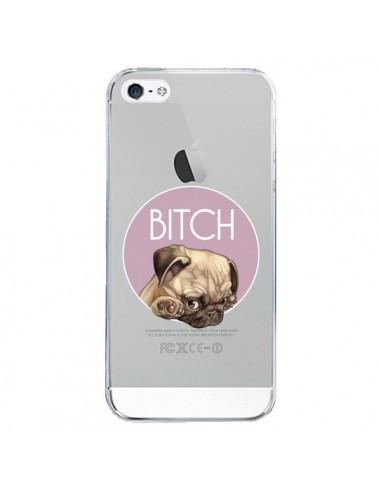Coque iPhone 5/5S et SE Bulldog Bitch...