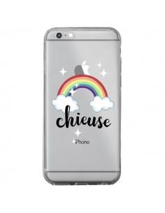 Coque Chieuse Arc En Ciel Transparente pour iPhone 6 Plus et 6S Plus - Maryline Cazenave