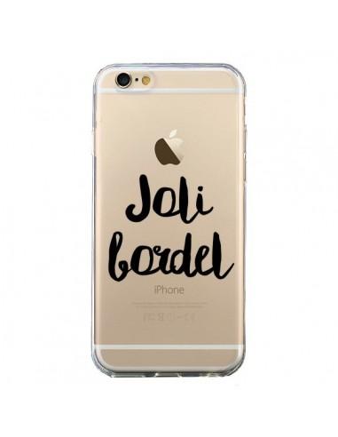 Coque Joli Bordel Transparente pour iPhone 6 et 6S - Maryline Cazenave