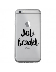 Coque Joli Bordel Transparente pour iPhone 6 Plus et 6S Plus - Maryline Cazenave