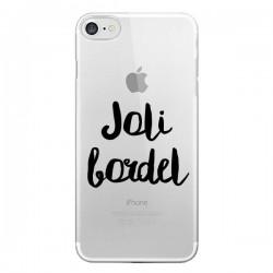 Coque Joli Bordel Transparente pour iPhone 7 - Maryline Cazenave