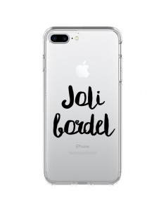 Coque Joli Bordel Transparente pour iPhone 7 Plus - Maryline Cazenave