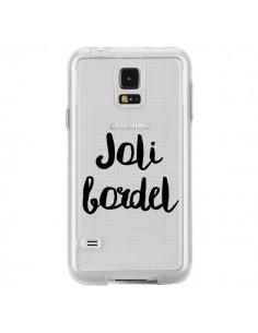 Coque Joli Bordel Transparente pour Samsung Galaxy S5 - Maryline Cazenave