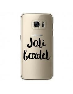 Coque Joli Bordel Transparente pour Samsung Galaxy S7 Edge - Maryline Cazenave