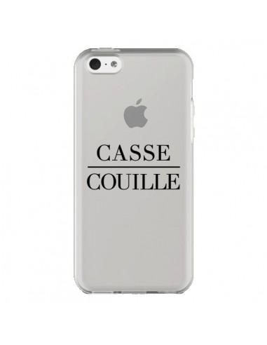 Coque iPhone 5C Casse Couille...