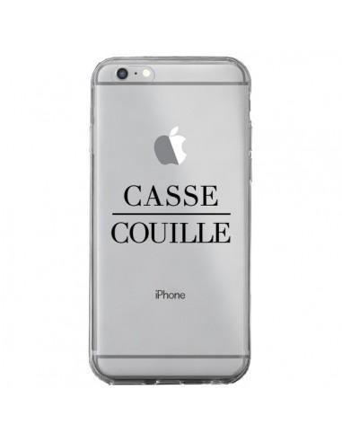 Coque Casse Couille Transparente pour iPhone 6 Plus et 6S Plus - Maryline Cazenave